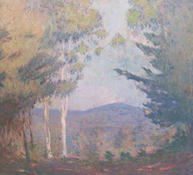 Uncle Fredrick Breswster's painting of Mt. Monadnock